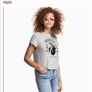 H&M Coachella collection tee